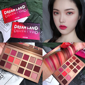 Dream Land Palette 18 Color Eyeshadow Palette Shimmer Matte Glitter Makeup Palette Pigment Smoky Nude Eyeshadow Pallete Cosmetic фото