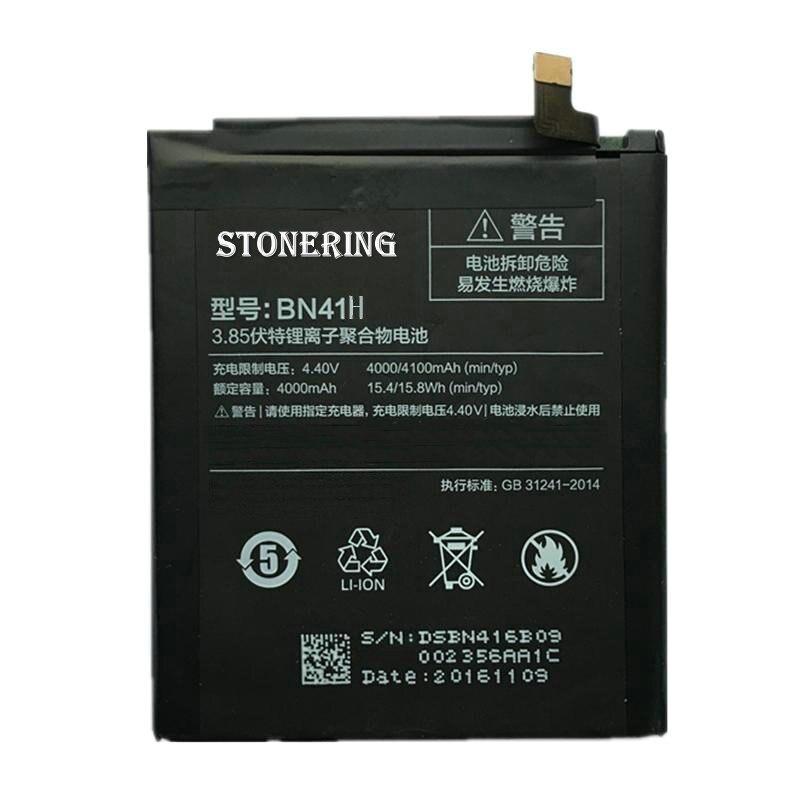 Новый высокое качество <font><b>BN41</b></font> 4100 мАч Батарея + кабель USB для Xiaomi Redmi Note 4 сотовый телефон <font><b>Batterie</b></font> Bateria Аккумулятор Акку