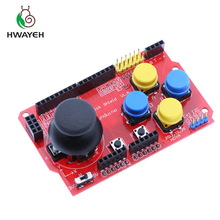 1PCS Gamepads JoyStick Keypad Shield PS2 for arduino nRF24L01 Nk 5110 LCD I2C for arduino