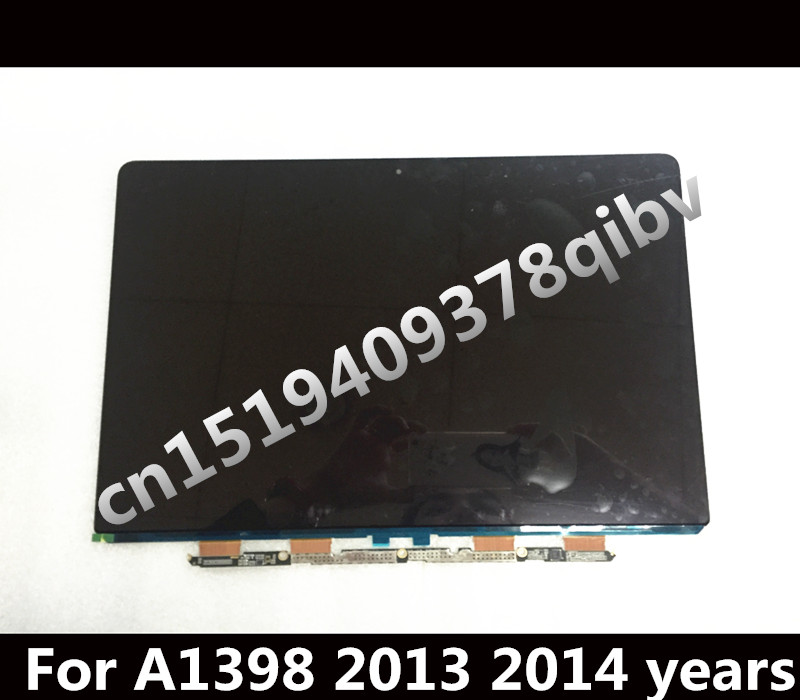 Genuine 15 Laptop Matrix for Macbook Pro Retina A1398 LCD LED Screen Display 2013 2014 Years original a1706 a1708 lcd back cover for macbook pro13 2016 a1706 a1708 laptop replacement