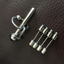 Removable Insert Penis Beads Chromium Plug For Male