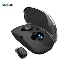 TWS Mini Earphone X18 Bluetooth Wireless Earphones SportTouch Control Bluetooth Earbuds With Charging Box