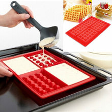 1 Piece Silicone Waffle Mold Muffin Cake Baking Tool