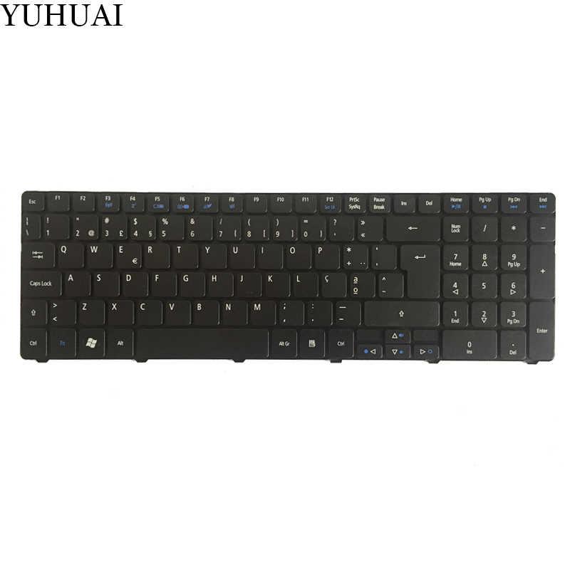Untuk Acer Aspire 5750 5750G 5750Z 5750ZG 5740G 5740Z 5741 5741G 5745G 5745 5745 P 7251 7331 7336 Portuguese Po Keyboard Laptop