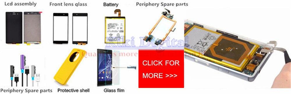100% מקוריים USB לטעינה יציאת אבק Plug כיסוי+Micro SD יציאת & SIM-יציאה כיסוי חריץ עבור Sony Xperia Z3 L55T C6603 D6643