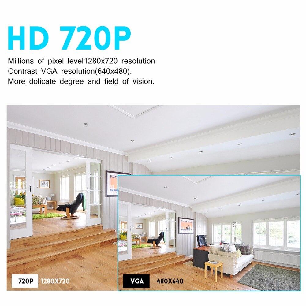 JOOAN 8CH DVR CCTV Video Recorder 4PCS 720P Home Security Wasserdichte Nachtsicht sicherheit Kamera system Überwachung Kits