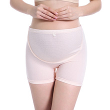 New elastic stomach lift boxer briefs high waist large size adjustable comfort soft pregnant women underwear safety pants