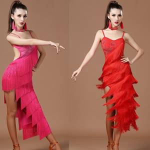 05e241104123 IDEASKY costumes fringe ballroom womens latin dress dancing