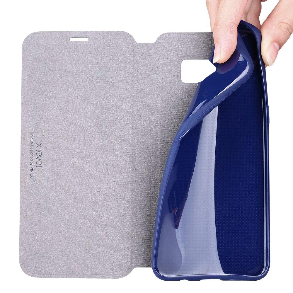 Luxury Kasus Untuk Samsung Galaxy S8 Plus Mode Ultra Tipis Kulit - Aksesori dan suku cadang ponsel - Foto 2
