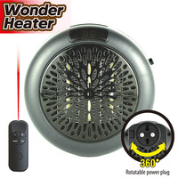 Hot New Portable Mini Electric Warm Air Blower Fan Plug In Wall Outlet Room Heater HY99 OC08