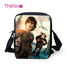 Crossbody Bags For Boys Girls How To Train Your Dragon Night Fury 3D Printing Small Shoulder Bag Casual Sling Sac A Main