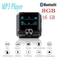 HIFI Sports Bluetooth MP3 Voice Recorder Hifi MP3 player Bluetooth DSD 8GB Voice Recorder Pen Hifi audio FM Radio Support e book