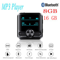HIFI Sports Bluetooth MP3 Voice Recorder Hifi MP3 player Bluetooth DSD 8GB Voice Recorder Pen Hifi audio FM Radio Support e book