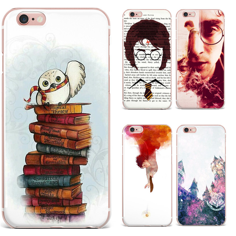 For Fundas iPhone 6 Case Harry Potter Soft Silicone TPU Cover For Coque iPhone X 8 8Plus 7 7Plus 6 6s Plus 5S SE Phone Case