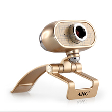 2016 Newest Webcam HD 1080p With Microphone,1920x1080P Free Drive Full Metal Web Camera With Mic For PC Laptop Smart TV(China (Mainland))