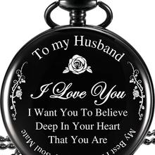Anniversary gift Pocket Watch valentines day gift for husband present for husban