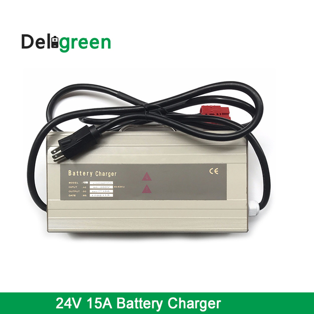 QNBBM Customized Factory Supply 24V 15A 120V Input Lipo Battery Charger With 12VDC Enable Signal For US market
