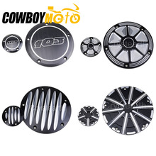 Motorcycle Engine Derby Cover Timing Timer Cover For Harley Dyna Softail Touring Road