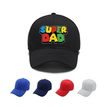 7cee2b33 Classic Super Dad Bros. Fathers Day Gift Baseball Cap Snapback Hat For  Women Caps Summer