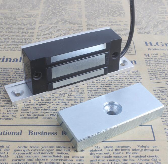 12 V 100lbs 60 Kg Mini Magnetverschluss Elektromagnetische Magnet Kabinett Lock Unsichtbare Geschickte Herstellung