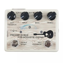 Caline CP 67 DI Box For Acoustic Guitar Pedal Effect 9V Guitar Effects Guitar Accessories Effect Pedal True Bypass Guitar Parts