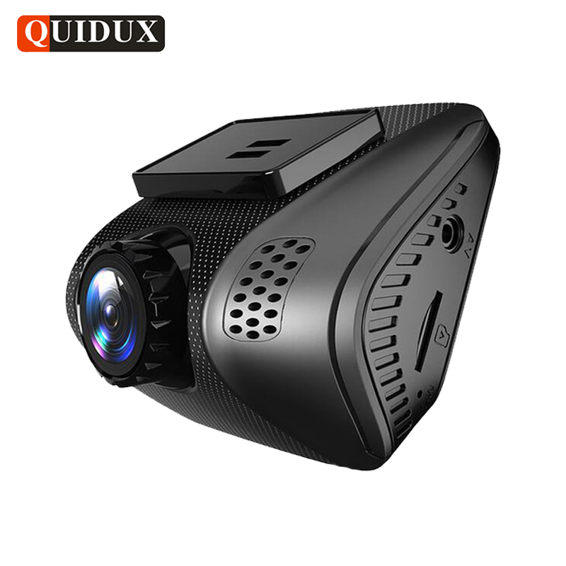QUIDUX mini Full HD 1080P WIFI Car DVR Novatek 96658 Dashcam 170 degree WDR Video Camera Recorder G-Sensor Loop Recording [m2] general car dvr wifi app mini hidden full hd 1080p novatek 96655 sony322 2 1inch g sensor car video recorder