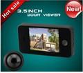 "freeship 3.5"" LCD 150 degree Wide Angle Visual Monitor Digital Door Viewer Doorbell Peephole Camera Video Home Security"