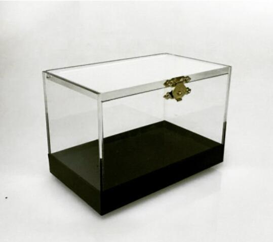 Boîte de commutation Pro tours de Magie comédie gros plan Illusion magique apparaissant transformant des objets boîte de Magie transparente accessoires magicien