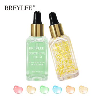 BREYLEE 2pcs Soothing Repairing Serum Repair Lifting Firming Face Skin Care Collagen Whitening Anti aging Wrinkles