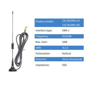 Image 2 - 2pcs Lora 915MHz Antenna 2G GSM GPRS NB Antenna with Magnetic Base Omni Antena SMA Male Lora Omnidirectional Aerial TXGN XPL 100