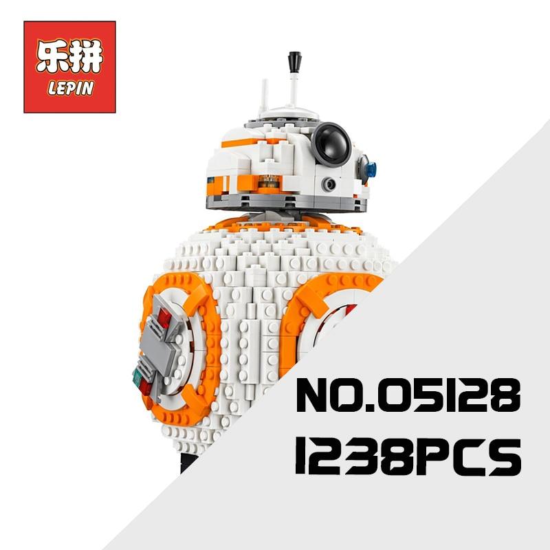 Lepin 05128 Star Plan Series War the Double B 8 Robot Set 75187 Building Blocks Bricks Children Toys as Christmas Birthday Gift конструктор lepin star plan истребитель набу 187 дет 05060