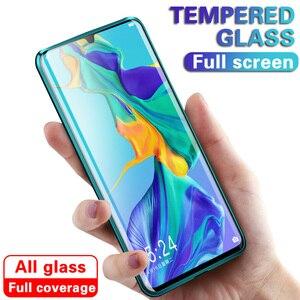 Image 1 - 9D מלא כיסוי מזג זכוכית עבור Samsung Galaxy A40 A50 A70 מסך מגן עבור סמסונג A30 A20 A10 M10 M20 m30 מגן סרט