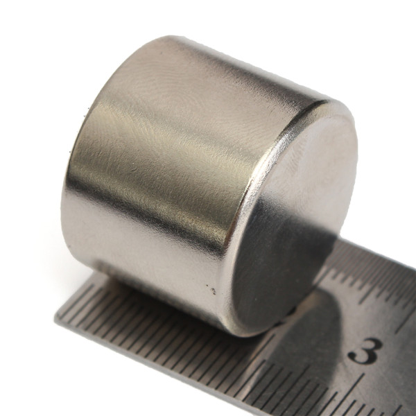 Hot Sale Lowest Price N52 Strong Round Cylinder Magnet 25x20mm Rare Earth Neodymium Magnet Магнит