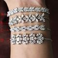 Nova marca de moda de Luxo Casamento forma ashlar pulseira Nova pulseira de Energia Para O transporte Mulher livre