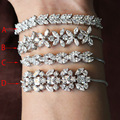 brand new fashion Luxury ashlar shape  Wedding bracelet  New Energy bracelet  For Woman free shipping