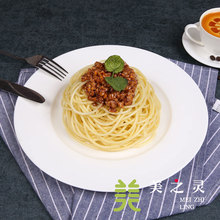 Spaghetti Meat Sauce Simulated Noodles Food Model Sample Dishes Spaghetti Handicraft Artificial Props Table Ornaments Display