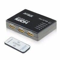 STEYR 5 Port HDMI Switch 5X1 5 Input 1 Output Hdmi Switch V1 4 With IR