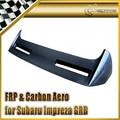 Carro-styling Para Subar Impreza STI GRB VR2 Fibra De Carbono Spoiler Traseiro Asa