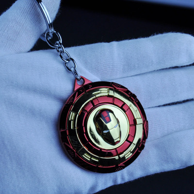 Металлический брелок Marvel, Мстители, Капитан Америка, щит, Человек-паук, Железный человек, маска, брелок, игрушки, Халк, Бэтмен, брелок, подарок, игрушки - Color: D-39