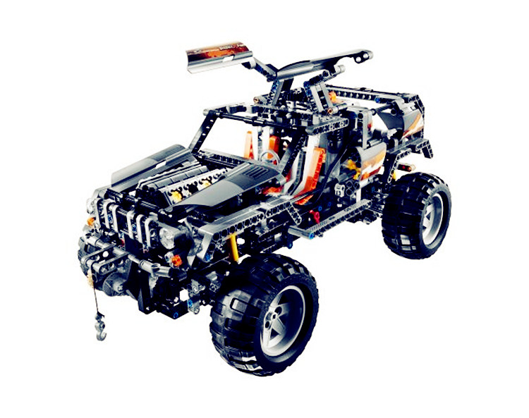 Lepin 20030 1132Pcs Technic Ultimate Series The Off-Roader Set Children Educational Building Blocks Bricks DIY Toys Model 8297 lepin 20030 1132pcs technik ultimate off roader cars legoingly 8297 sets building nano block bricks toys for boy gifts