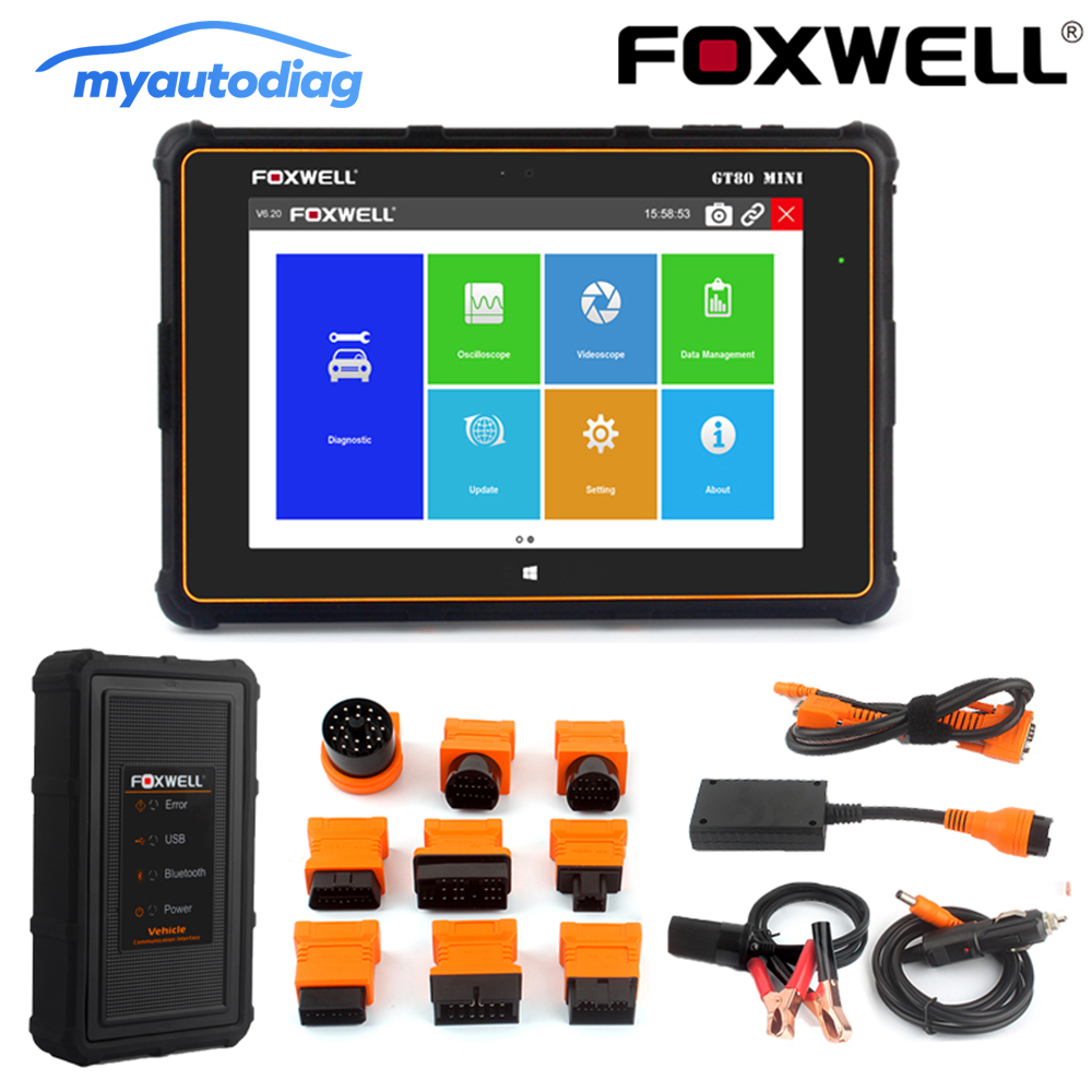 NEW OBD2 ALL-in-One Main Data Cable Compatible with Foxwell GT80 Mini Scan Tool