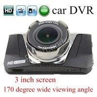 hot sale GT2000 Dash Cam Novatek 650 Car DVR Full HD Camera Video Recorder 3.0 inch LCD Screen 170 Degree Wide viewing Angle