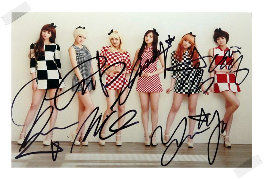 Hello Venus autographed signed photo collection 4*6 inches  freeshipping  02.2017 цена и фото