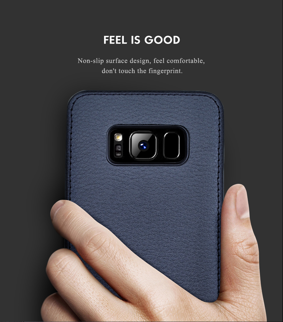 For Samsung Galaxy S8 Case Leather Luxury Cover Case For Samsung Galaxy S8 S8 Plus Case S8 S8 Plus Original Hard Back NKOBEE (10)