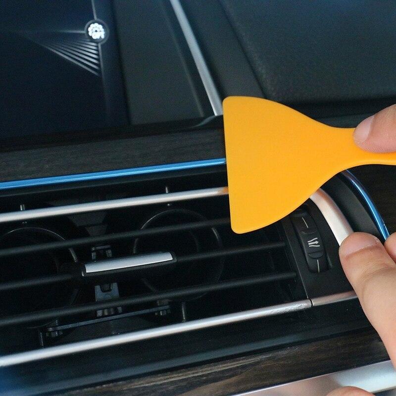 5M Car interior Decorative Sticker Interior Mouldings Trim Strip Insert Type Plating Decoration Strip DIY Stickers Car-Stylying (5)