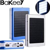 Bakeey 5x18650 Dual USB Zonne energie Camping Zaklamp 20000 mAh Batterij Opladen Case Power Bank DIY Doos Kit voor mobiele telefoon-in Batterijlader Hoesje van Mobiele telefoons & telecommunicatie op