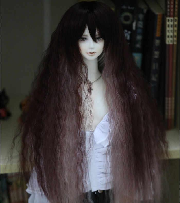 1/3 весы BJD/SD аксессуары парик длинные волосы кудри для BJD куклы не включены обувь
