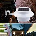 LED Lâmpadas Solares LEVOU Ao Ar Livre Solar Do Jardim Iluminação 3 LEDs lâmpadas LED Teto Parede Pátio da lâmpada Spot luzes