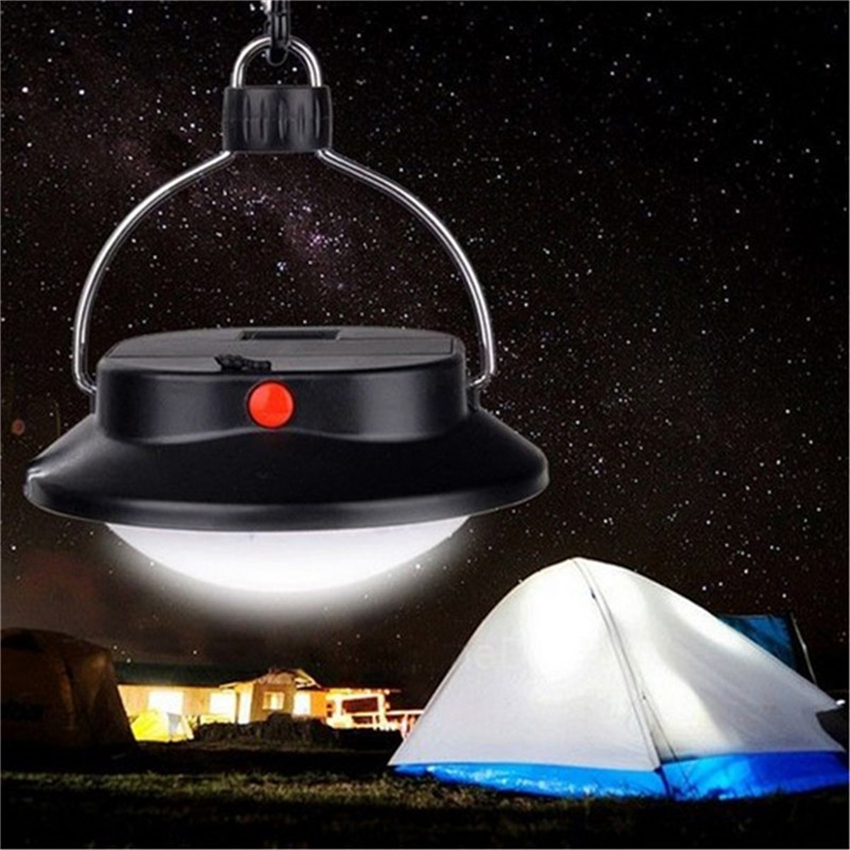 Outdoor 60 LED Camping Light Emergency Lamp Portable Tents Umbrella Night Lamp Hiking Lantern Household Lights For AAA/18650
