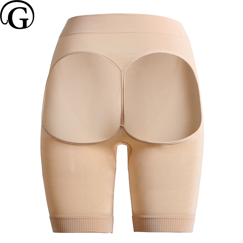 75b4c69044 PRAYGER Sexy Seamless Mid-thigh Butt Lifter Open Butt Control Body Shapers  Slimming Thigh Invisible